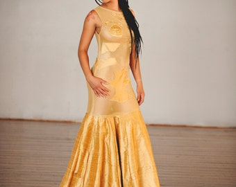 Ready to Ship- Golden Midas dress size medium One Of A Kind