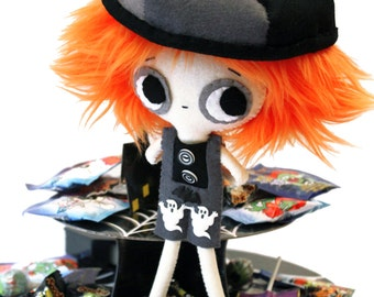Halloween doll propeller hat cute boy Danny