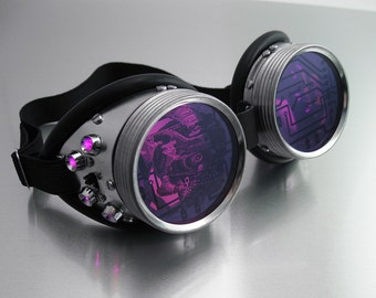 Fusion LED Goggles, multiple colors available