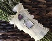 Bouquet Charm - Colored Jewel Embellishment