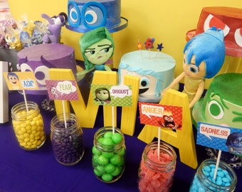 Printable Inside Out Birthday Party Package (PDF)