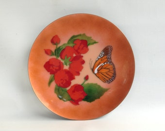 BOVANO of Cheshire Handcrafted Enamel on Copper Plate