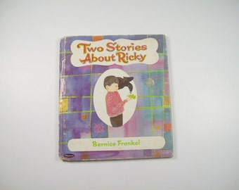 Vintage Book Two Stories About Ricky Whitman Tell a Tale Book Childrens Story 1966