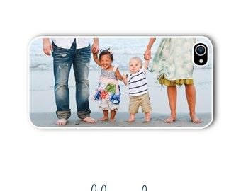 Personalized Photo iPhone Case Custom Monogram Case iPhone 4 iPhone 5 iPhone 6 Plus Tough Phone Case Photo Case