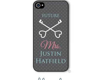 Future Mrs. Phone Case Monogram Engaged iPhone 6 Case iPhone 6s Case Samsung Galaxy S5 S6 Case iPhone 5 iPhone 6 Plus iPhone 5c Style 223