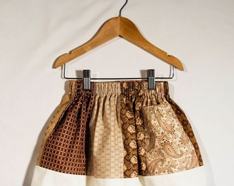 Autumn Is Here - Panel Skirt (Size XS)