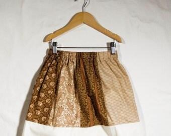 Autumn Is Here - Panel Skirt (Size Medium)