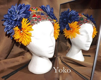 Tribal Fusion ATS Belly Dance Headpiece, Yoko