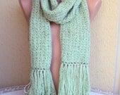 Sale! Knit Scarf Neckwarmer Women Men Fall Wınter Clothıng Accessories   Valentine's Day Gift