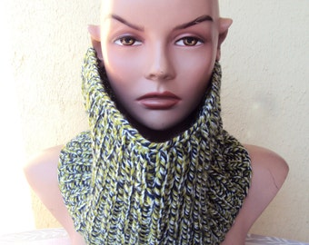 CLEARANCE SALE!  Knit Cowl Neckwarmer Knit Scarf Women Men Fashion Accessories Chunky Cowl Gift Ideas Free Shipment