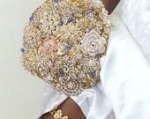 Wedding Garter - Crystal Garter - Bridal Garter - Gold Garter - Blue Garter - Bridal Accessories - Something Blue - Silver Garter - COLLETTE
