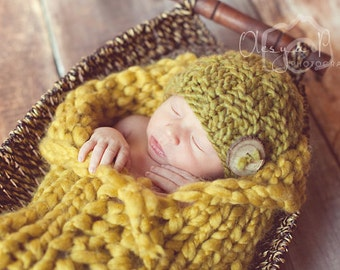 Download PDF knitting pattern k-26 - Newborn Basket woven beanie