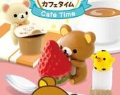 Rilakkuma figurine/Rilakkuma cafe time re-ment/Rilakkuma cafe time rement/Rilakkuma cafe decoration