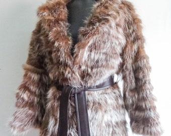 Vintage Fur Coat size Medium