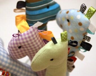Giraffe Rattle - Baby Toy