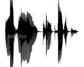 STAR TREK LIVE Long and Prosper Sound Wave Quote Print Spock Vulcan