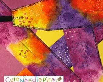 Free Shipping to the US** CrossFit Wrist Wraps - Tie Dye Purple Yellow Orange