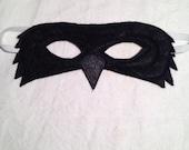Felt Raven Mask