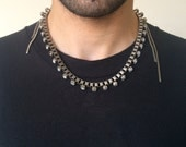 Crystal Stud Necklace