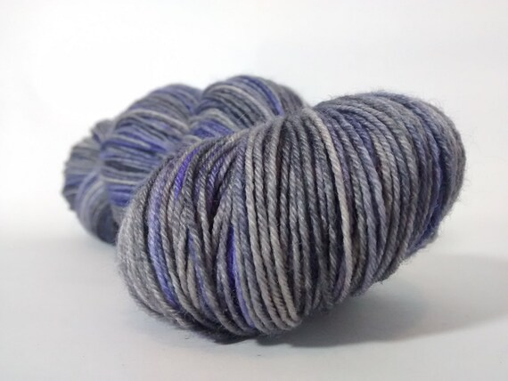 grey yarn: Thunder Clouds from OwlAboutYarn