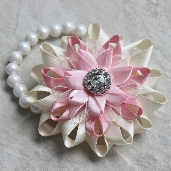 flower corsage pink wrist corsage prom corsage pink flower, Natural flower