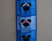 4 Pocket Fish Extender For Your Disney Cruise - Pick Colors, Top & Pocket Designs With Names
