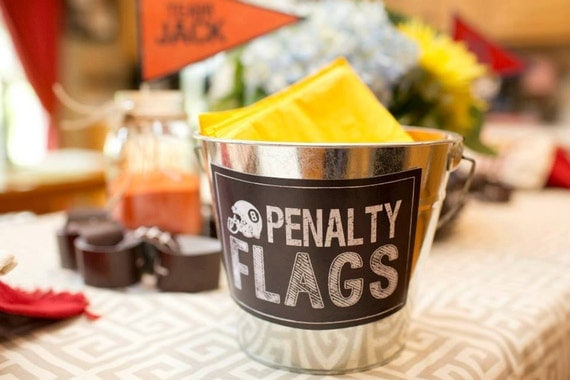 Penalty Flags Printable Sign Instant Download By Beth Kruse