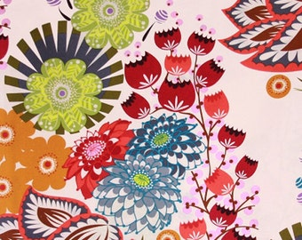 Summer Totem in Grapefruit AH37 - Loulouthi by Anna Maria Horner for Free Spirit Fabrics - By the Yard