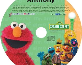 Personalized Elmo CD