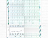 2016 Business Tracker Finance Planner Sales Calendar Small Business Organiser