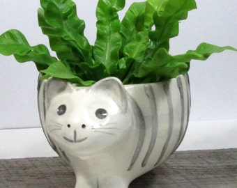 Cat planter Ready to ship