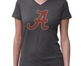 CHILD or ADULT SIZE  Alabama Rolltide Bling Crystal Rhinestone Shirt