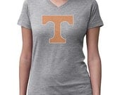 CHILD or ADULT SIZE  Tennessee Vols Bling Crystal Rhinestone Shirt