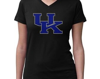CHILD or ADULT SIZE  Kentucky Bling Crystal Rhinestone Shirt
