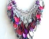 Shaggy Scales Necklace - Confetti Fun