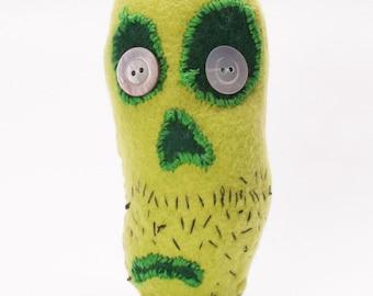 Zombie Plush Monster Zombean Zeke