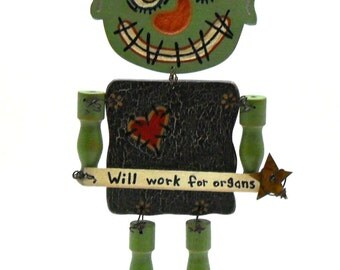 Frankenstein, Monster, Primitive Halloween, Halloween Decoration, Ogre, Halloween Finds, Halloween Trends, Fall Finds, Fall Trends