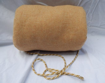 Camel colored wool woman's muff