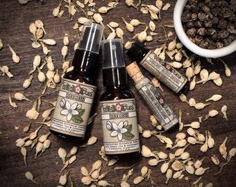 Skincare Gift Set Facial REFRESH Trial Size Sampler Set Jasmine Green Tea & Peppermint