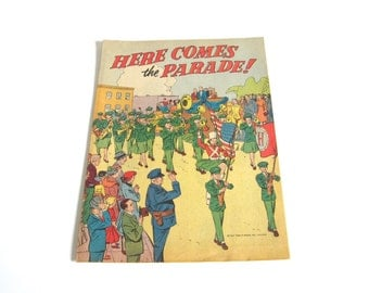 Music Marching Band Comic Book 1950s Cornet Trumpet Vintage White Elephant Gifts Funny Gift for Music Lover
