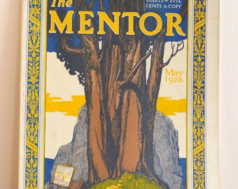 The Mentor, May 1928 - Vintage Journal Magazine, Special Spring Issue - Paintings, Sculpture, Crafts, Art, Great Photos & Advertisements