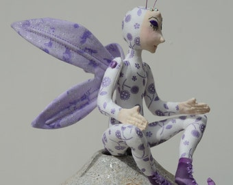 Fairy Art Doll, OOAK Alalia