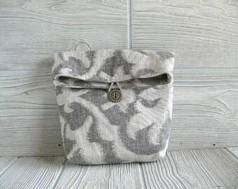 Clutch /Bag & Purses /  Pouch /  Handbag /  MandEms Design / Travel Organizer / Cosmetic Bag