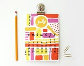 Magnetic Calendar 2016 Monthly Calendar Teacher Gifts Desk Calendar Office Supplies Christmas Gift Desk Accessories Colorful Cute Planner