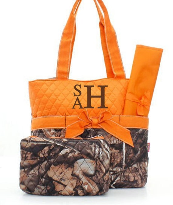 monogrammed diaper bags personalized diaper bags camo diaper. Black Bedroom Furniture Sets. Home Design Ideas