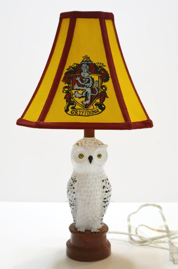 Harry Potter Book Light : Harry potter lamp by nerdfreakintastic on etsy