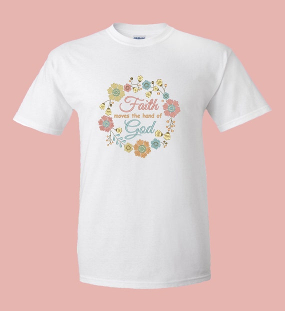 Christian Embroidery T Shirt Custom Stitched By Sewingdivine