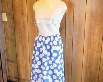 On Sale-Polka Dot VINTAGE Sun Dress