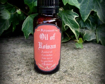 Magical Rowan Oil 25ml: Witchcraft, Magic, Wicca, Pagan