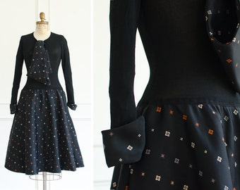 Vintage Vera Maxwell Speed Suit Dress